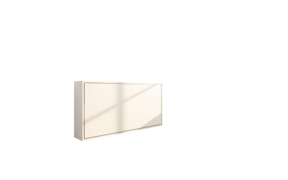 Piuma Sofa 90 Orizzontale - Un letto a scomparsa singolo compatto che può essere usato come divisorio per ambienti