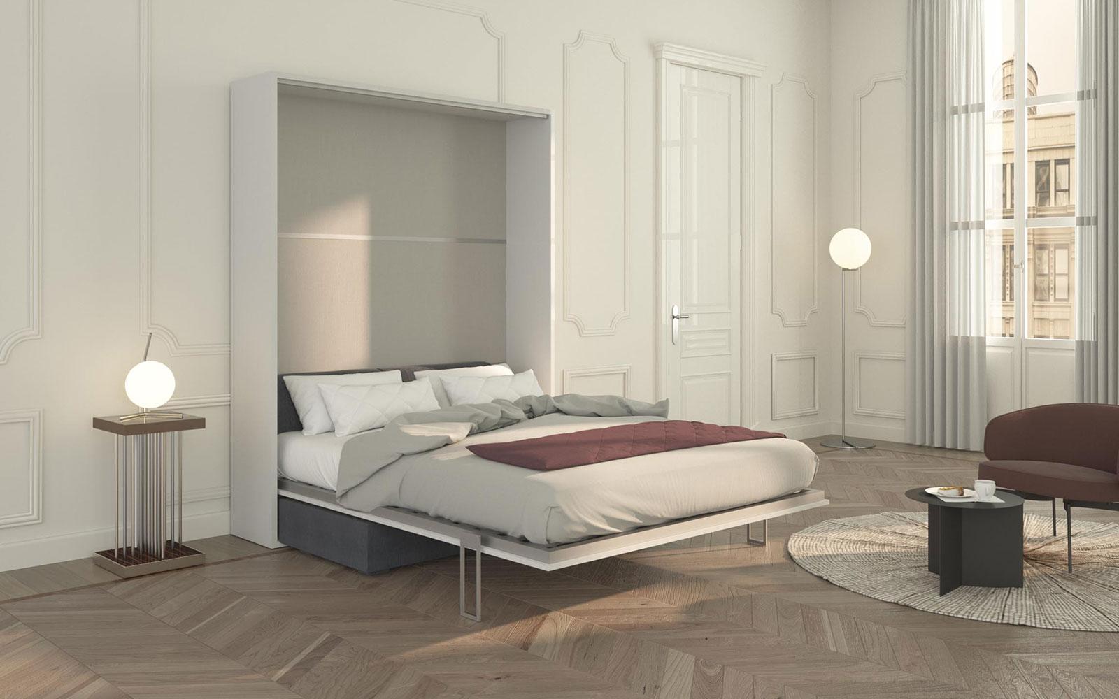 Piuma sofa 160 letto matrimoniale a scomparsa con divano - Divano letto a tre posti ...
