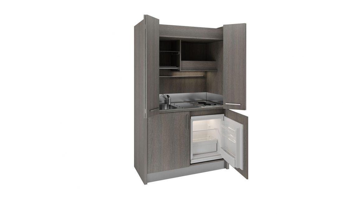 Brianza - piccola cucina nascosta in un armadio 1 metro e mezzo