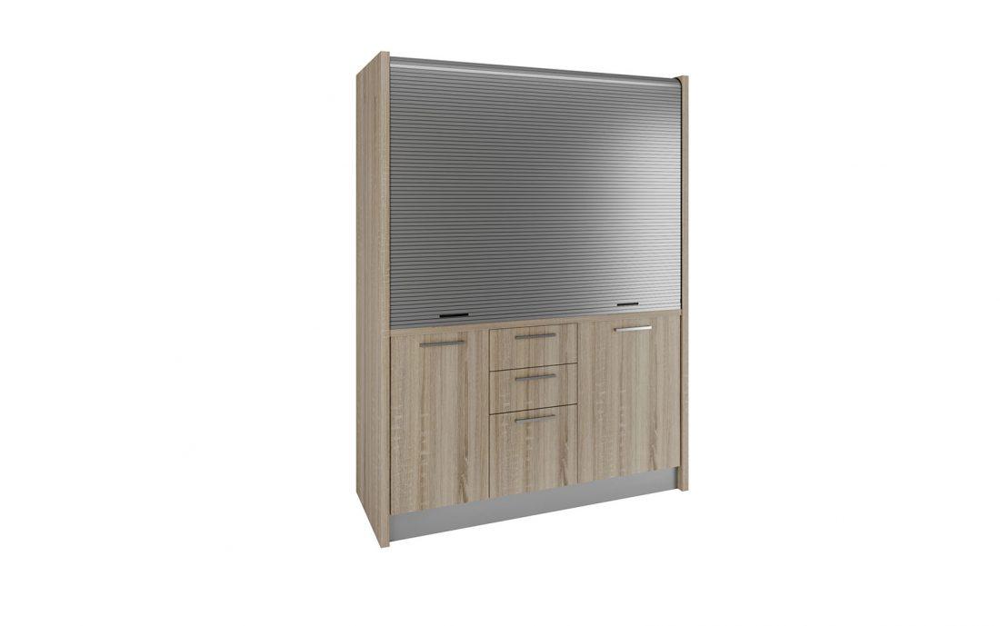 Chianti - cucina monoblocco in legno ideale per bnb