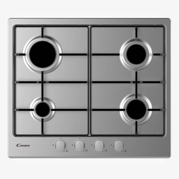 Versilia – Cucina a scomparsa da 255cm con serranda, piano 2 fuochi, frigorifero grande e forno