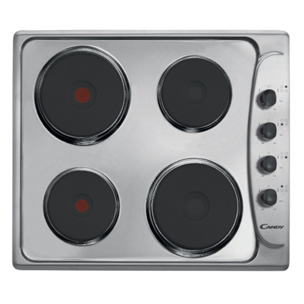 Circeo – Cucina monoblocco larga m 1,60 con elementi a vista, mini frigo, 4 fuochi