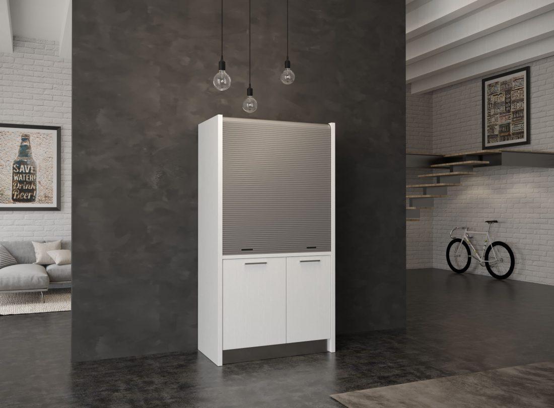Micro cucina a scomparsa per spazi ristetti e ambienti piccoli