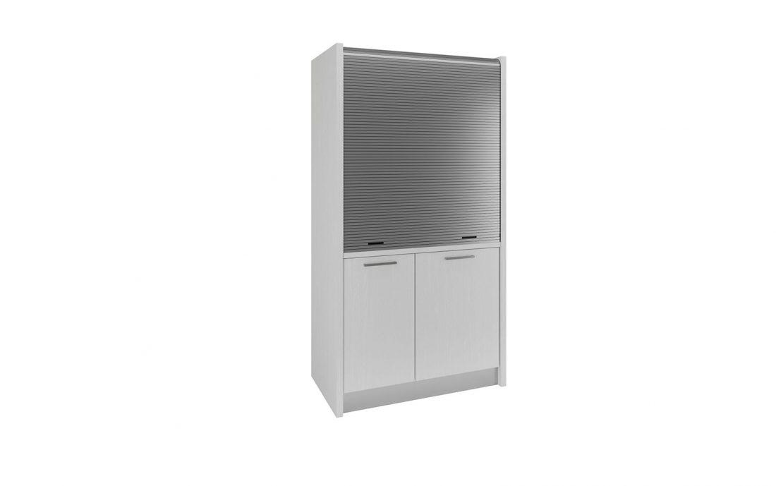 Tuscia 42 è una cucina a scomparsa che sta in un piccolo armadio