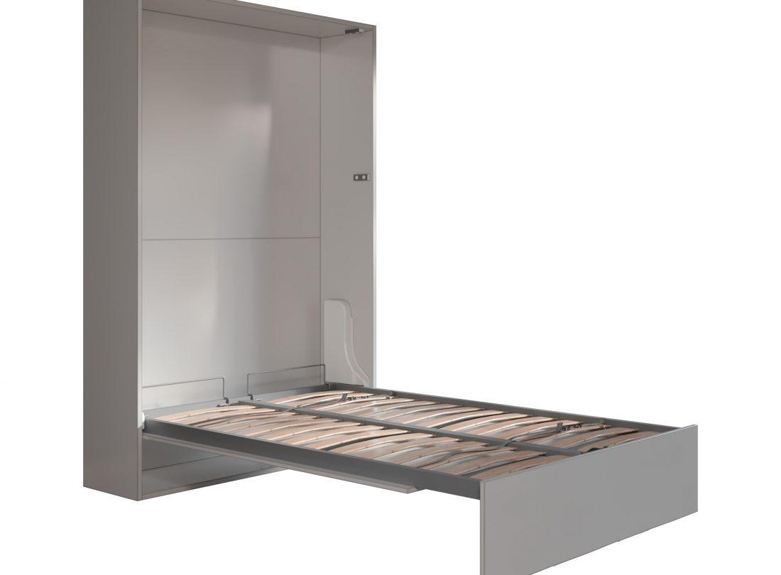 Mobile letto a scomparsa due piazze per mini appartamento o loft e open space