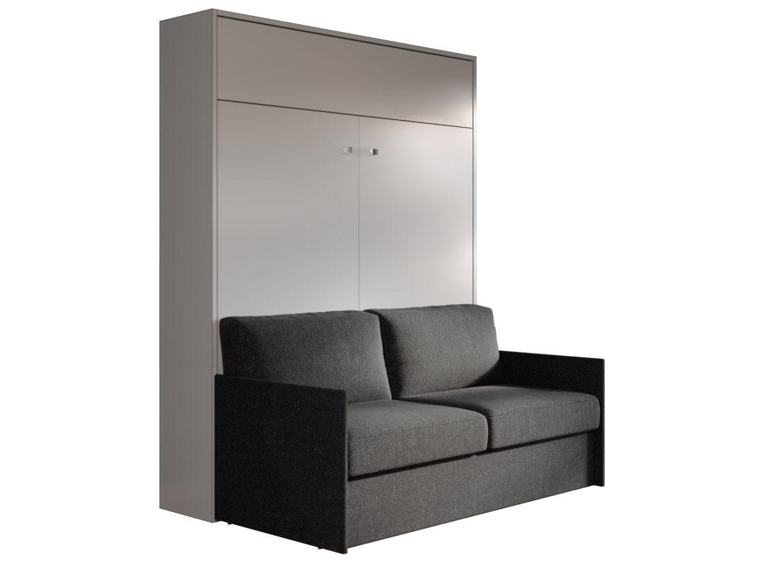 Aria sofa 160 letto matrimoniale a scomparsa con divano for Divano letto 160