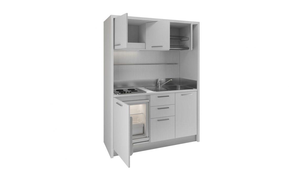 Cucina completa con struttura monoblocco di facile installazione per casa vacanza