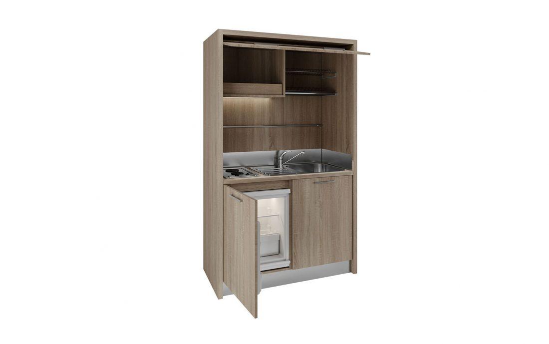 Piccolissima cucina mono blocco completa per airbnb e casavacanza