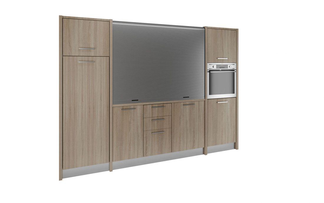 Metaponto è la più grande e completa delle cucine a scomparsa per mini appartamenti