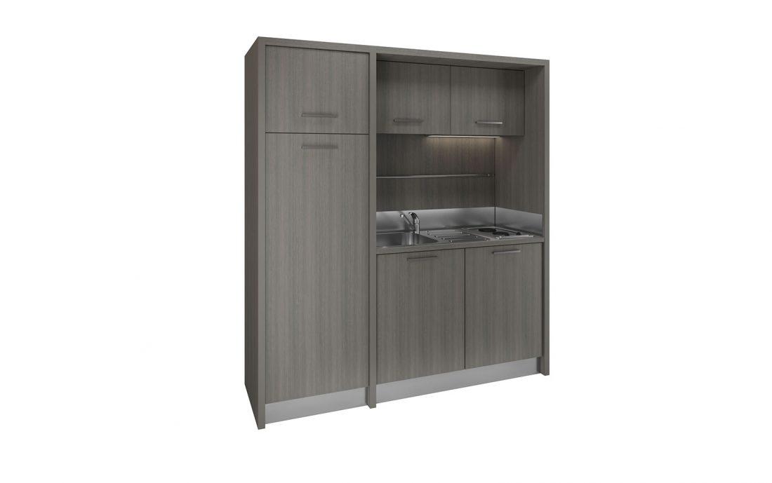 Mugello - cucina a vista solida e di facile installazione per apartamenti piccoli