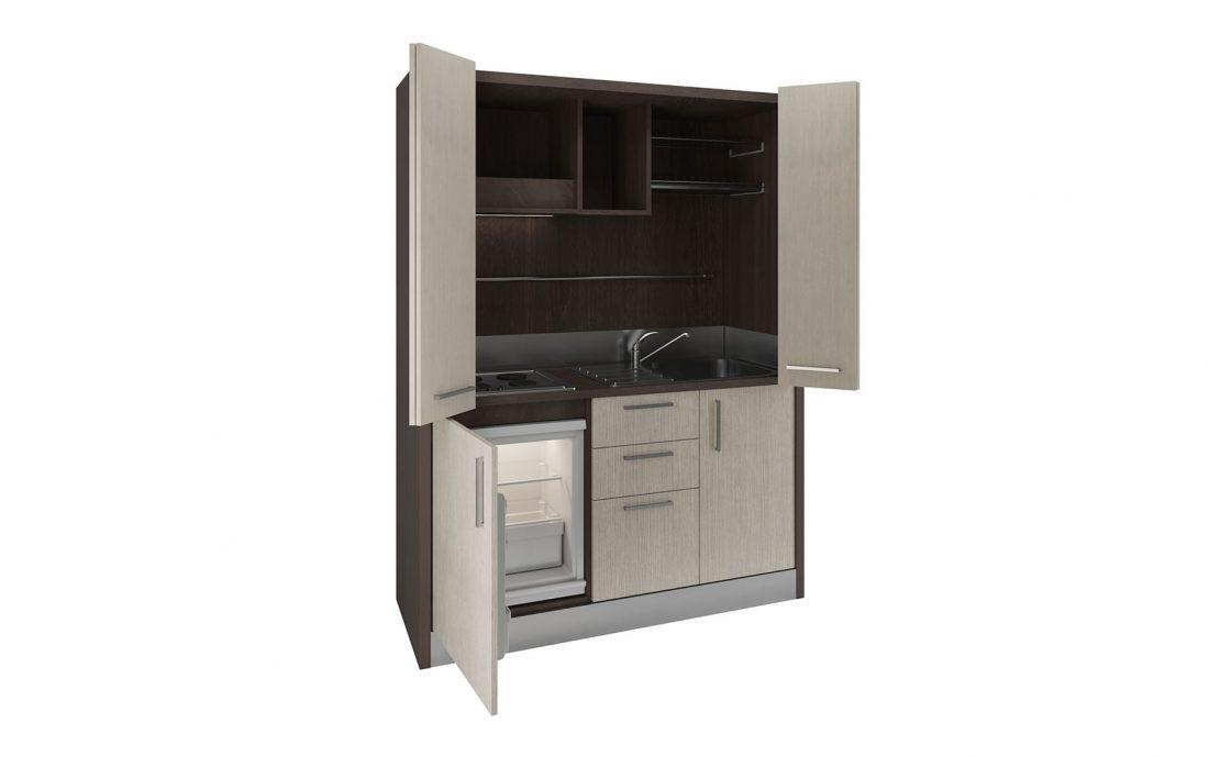 Oltrepò è una cucina a scomparsa camuffata da armadio