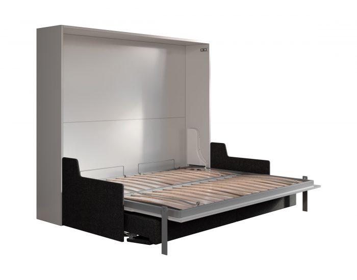 Aria sofa 160 letto a scomparsa con divano a movimento for Letto a scomparsa con divano