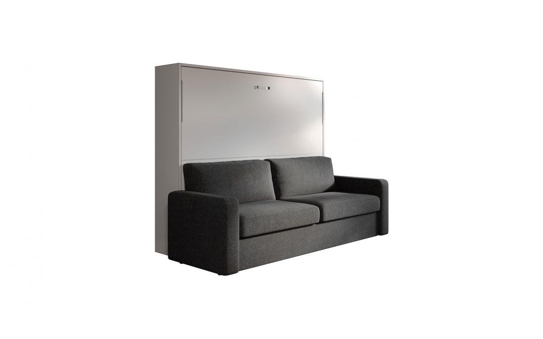Soffio sofa 160 mobile letto basso con divano automatico for Divano letto 160