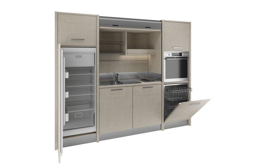 Versilia è una cucina a scomparsa per strutture hospitality e residence