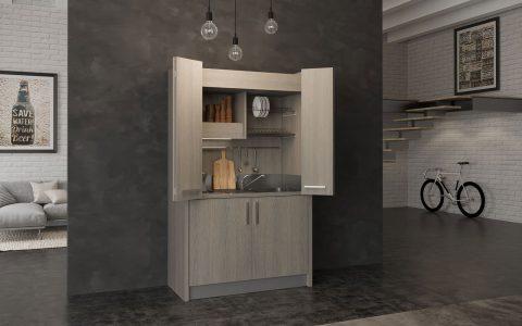 Cucine armadio, la soluzione ideale se hai poco spazio