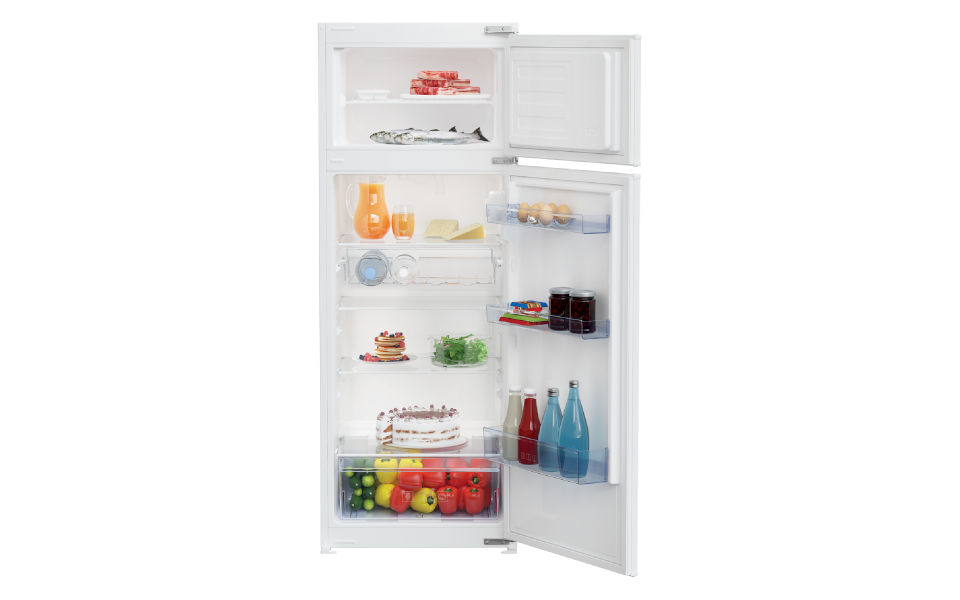 GranSasso – Mini cucina per monolocale con serranda e frigo a colonna 189cm