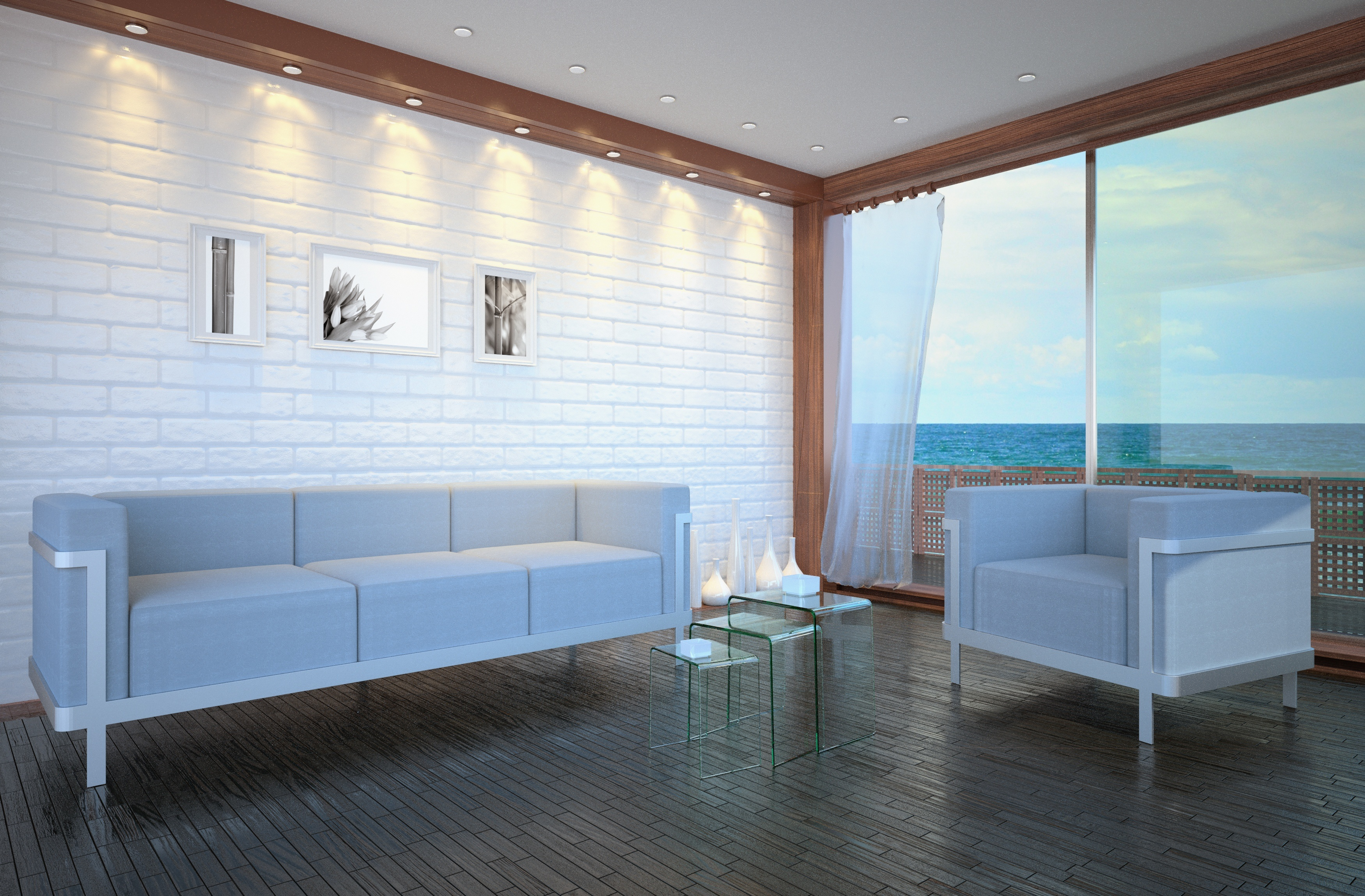 Arredamento della case vacanze al mare