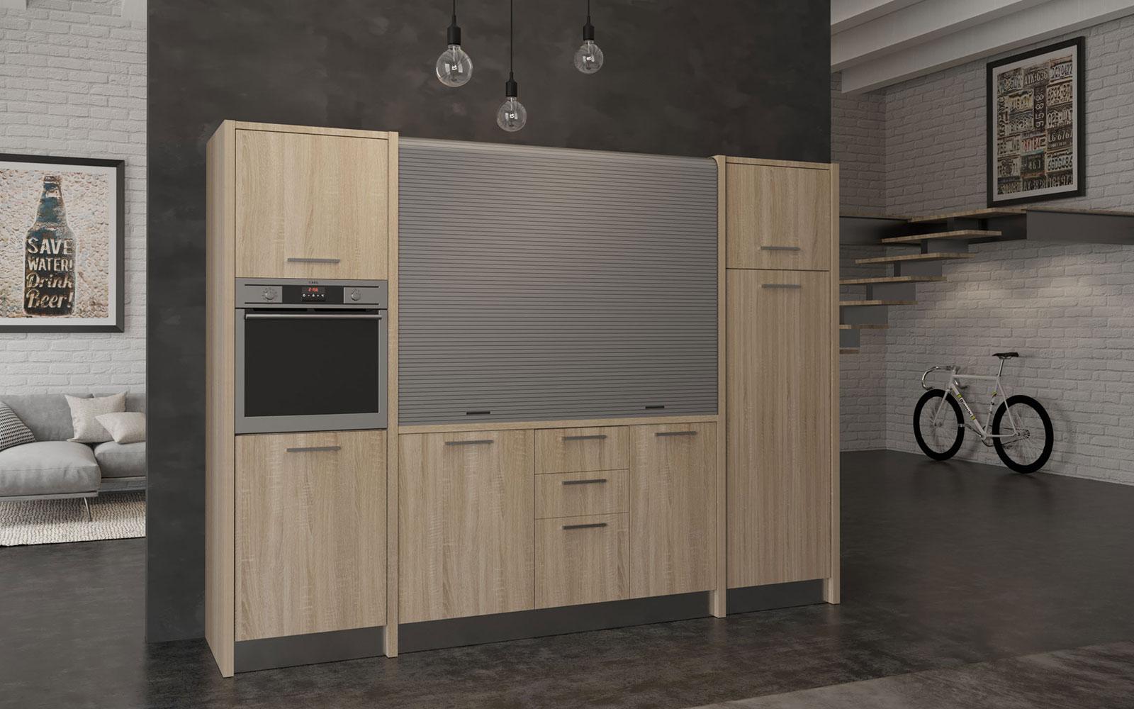 Cucine trasformabili, perché sceglierle per i mini appartamenti
