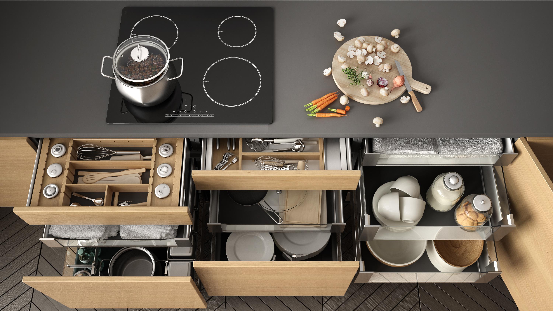 accessori per una piccola cucina