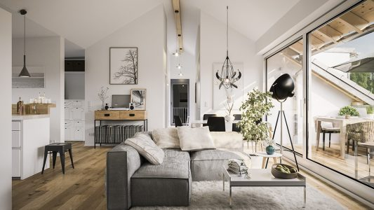 Piccolo appartamento moderno