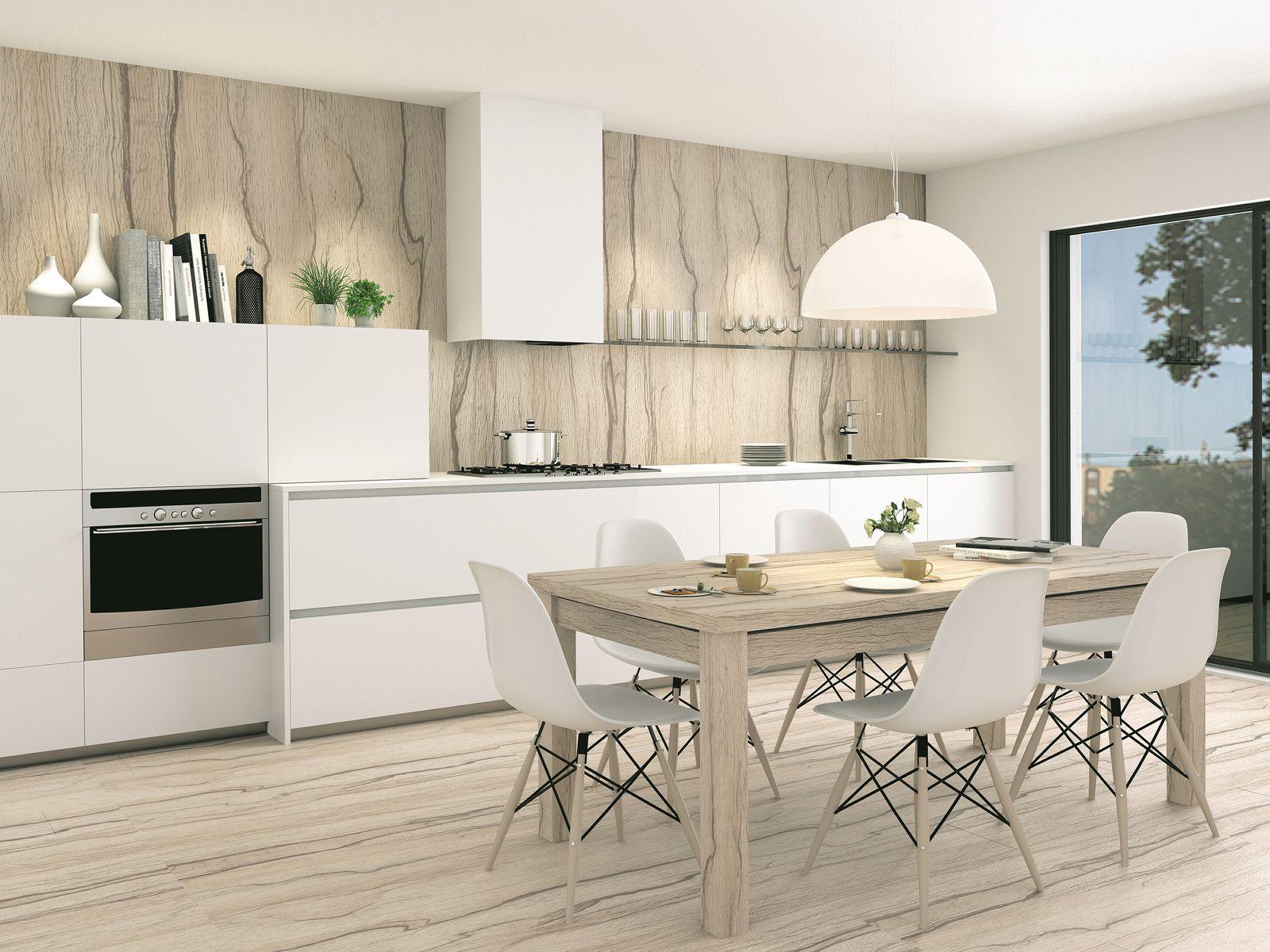 Cucina abitabile moderna