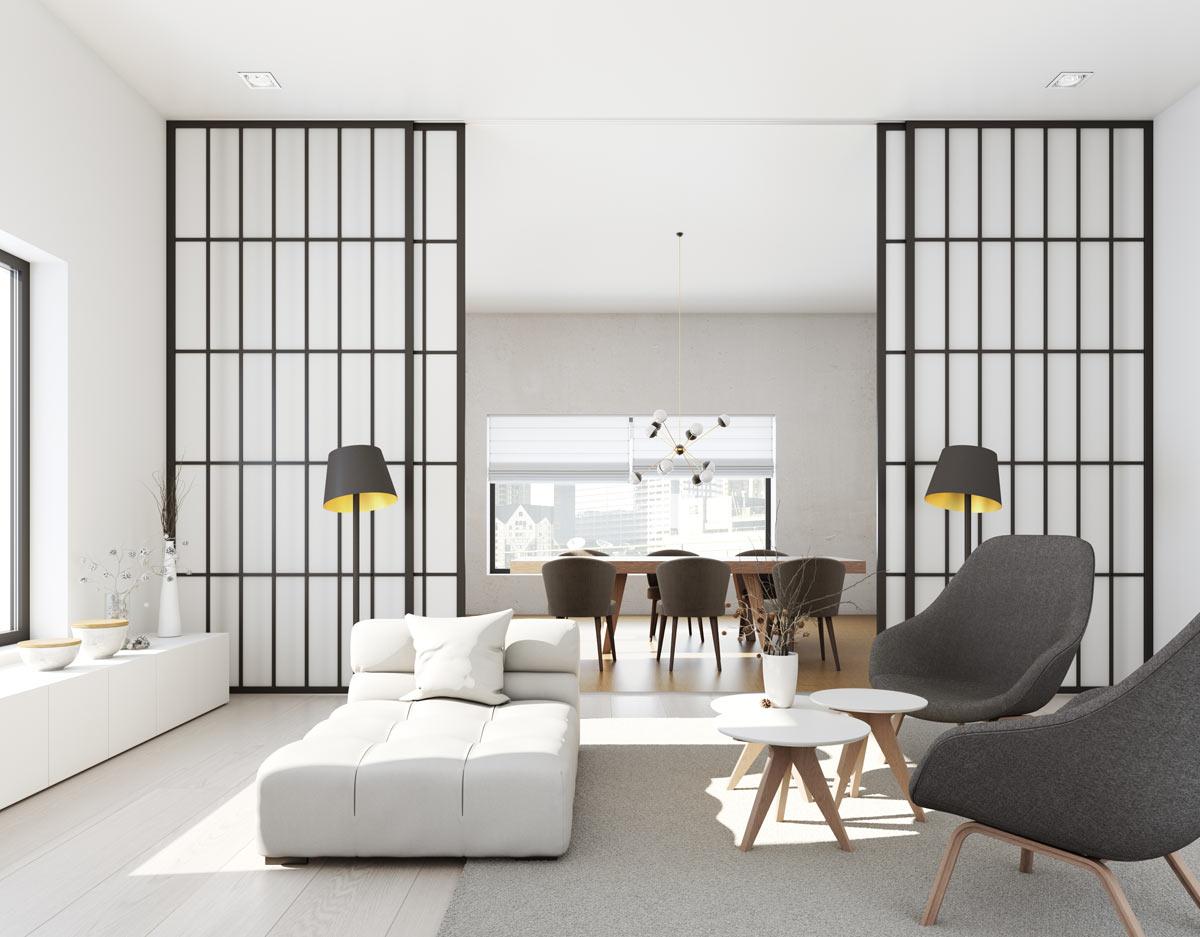 Pareti divisorie per casa, come sfruttarle per ottimizzare lo spazio